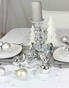 tischdeko weihnachten weiß weihnachtliche tischdeko in silber sonja tischdeko