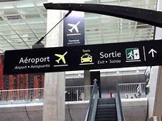 roissy gare tgv parcours entre gare tgv rer et terminal 2 aeroport roissy charles de gaulle cdg