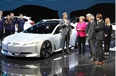car to go frankfurt at frankfurt auto show merkel urges car industry to
