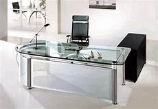 glass home office furniture use glass furniture for a sophisticated look