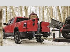 2019 Ram 1500 Multifunction Tailgate Adds Barn Doors to
