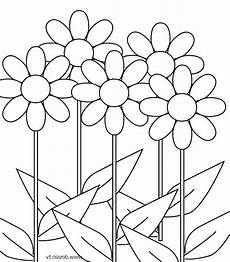 Gambar Bunga Hitam Putih Keren Simple Free Photos