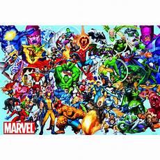 Marvel Comic Helden Malvorlagen Marvel Die Helden Marvel 1000 Teile Educa Puzzle