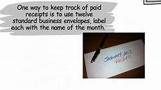 simple way to keep track of your receipts for tax time youtube