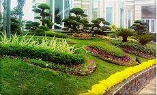 Desain Taman Depan Kantor Kumpulan Desain Rumah