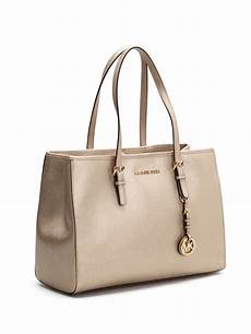 jet set saffiano leather tote by michael kors totes bags