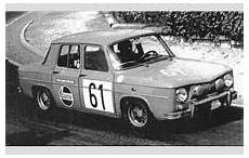 Renault 8 Gordini Photo Gallery Racing Sports Cars