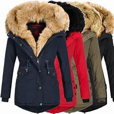 navahoo sweety damen jacke mantel winterjacke warm fell