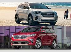 2019 Hyundai Santa Fe XL vs. 2019 Kia Sorento: Which Is