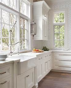 Small Kitchens Style Classic beautiful classic white kitchen that will never go out of