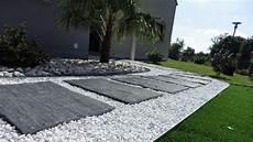 Allée De Jardin Moderne Amenagement Allee Entree Maison Ide Amnagement Chic Am