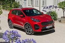 Kia Sportage Facelift 2018 Test Preis Motoren Gt