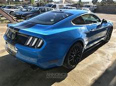 Ford Mustang Gt Bleu Occasion La Fare Les Oliviers