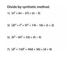synthetic division worksheet with answers kuta 6997 dividing polynomials worksheet answers newatvs info