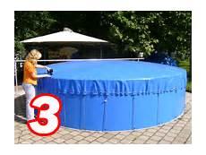 Schwimmbadabdeckung Plane - aufblasbare abdeckplane