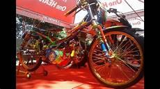Modifikasi Honda Supra 2002 by Modifikasi Drag Bike Racing Style Honda Supra Fit Thailand