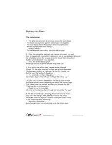 Highwayman Poem Ks2 Literacy Teaching Resources