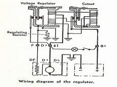 6 volt voltage regulator wiring diagram components