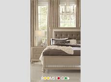 Sofia Vergara Paris Gray 5 Pc Queen Bedroom   Home Design
