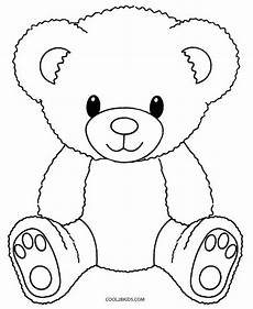 Ausmalbilder Weihnachten Teddy Printable Teddy Coloring Pages For