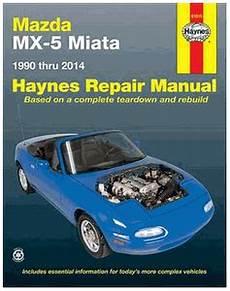 hayes car manuals 1988 mazda mx 6 electronic throttle control mazda mx 5 miata haynes repair manual 1990 2014