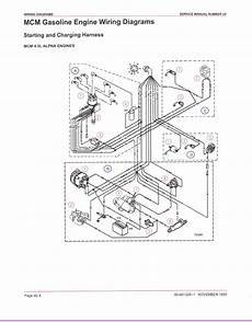 Electric Choke Wiring Diagram 1978 Corvette by My 1990 5 0 Lx V8 Mercruiser With Thunderbolt Iv Ign Only