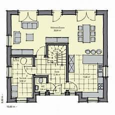 Grundriss Mit Treppe In Der Mitte - stadthaus holmen zwei vollgeschosse stadtvilla