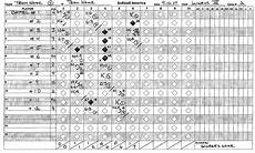 how to fill out a baseball score sheet understanding baseball softball scoring softball america