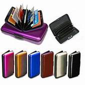 Credit Card Holder RFID Protect Contactless Aluminium
