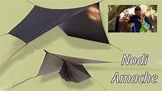 tenda amaca nodi per telo tenda e amaca e telo tenda node for hammock