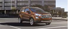 2018 ford 174 ecosport compact suv capable connected