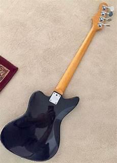Stagg Jaguar Jazzmaster Bass 2000 S Black Galaxy Reverb