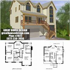 shtf house plans hillside lot icf house plan 2027 toll free 877 238