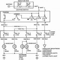 1999 Honda Accord Headlight Wiring Diagram