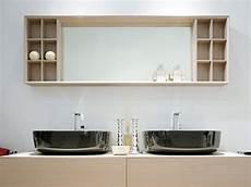 Miroir De Salle De Bain Avec Rangement Compono System 180 Miroir Rectangulaire By Ceramica