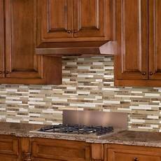 Kitchen Peel And Stick Backsplash Peel And Stick Self Adhesive Decorative Mosaic Wall Tile