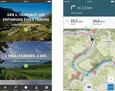 fahrrad navi komoot mit verbesserten navigations