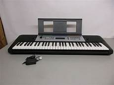 yamaha ypt 255 yamaha ypt 255 61 note digital keyboard reverb