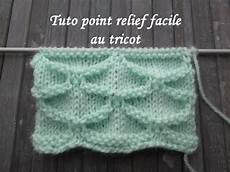 tuto point relief au tricot facile 3d relief stitch