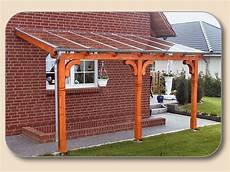 Terrassendach Glas Holz Selber Bauen Bausatz Holzon