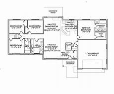 e plans ranch house plans ranch style house plan 4 beds 2 baths 2108 sq ft plan