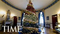 Melania Decorations by Melania Receives The 2017 White House