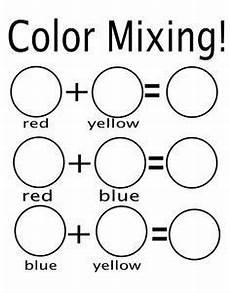 secondary colors worksheets 12813 mixing colors worksheet preschool search color worksheets preschool colors mixing