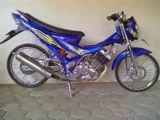 Modif Motor Fu by Koleksi Foto Modifikasi Motor Satria Fu Standar Terbaru