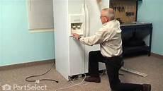 Kitchenaid Refrigerator Troubleshooting Water Dispenser by Refrigerator Repair Replacing The Dispenser Waterline