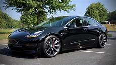 tesla model 3 black unplugged performance dual rate linear lowering springs