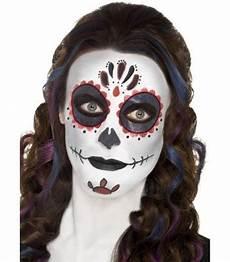 maquillage squelette femme jour des morts la magie du
