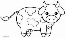 free printable cow coloring pages for cool2bkids