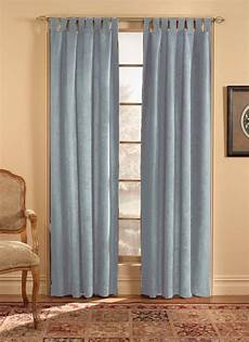 Tab Top Curtains by Chf Industries Microsuede Tab Top Curtain Panel 50w By 84l