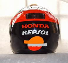 honda repsol helm samurai bikers shoei multitec repsol honda special paint